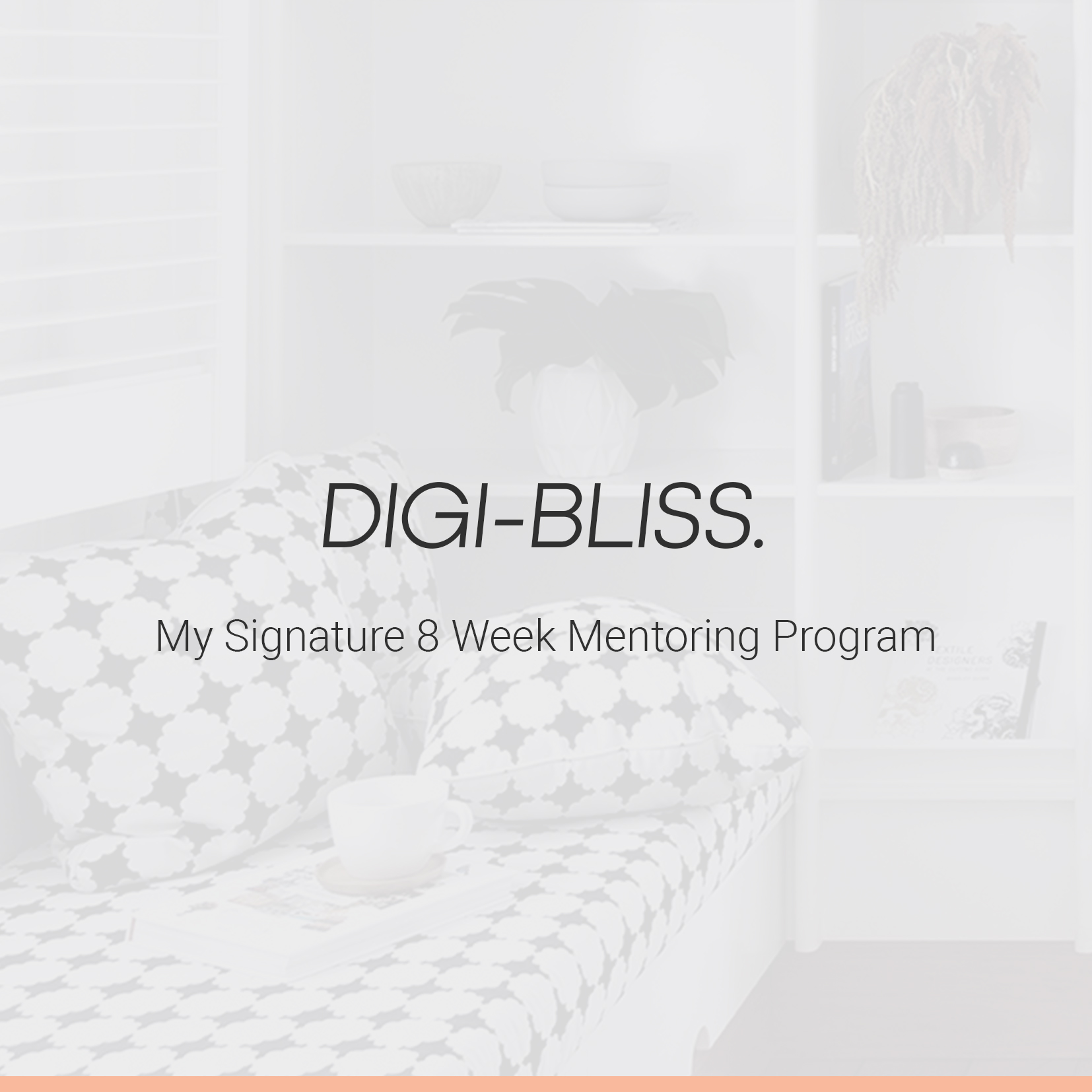 Digi-Bliss / My Signature 8 Week Mentoring Program